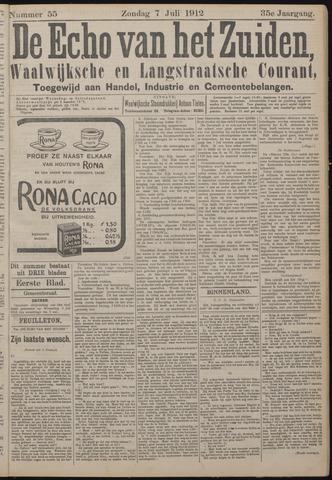 Echo van het Zuiden 1912-07-07