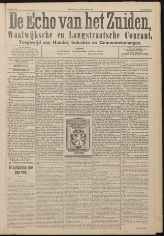 Echo van het Zuiden 1925-11-18