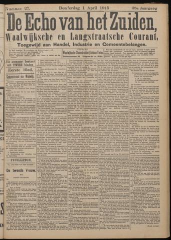Echo van het Zuiden 1915-04-01