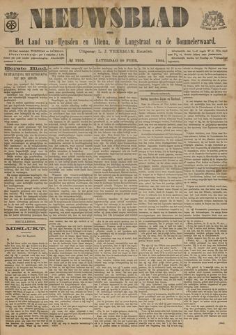 Nieuwsblad het land van Heusden en Altena de Langstraat en de Bommelerwaard 1904-02-20