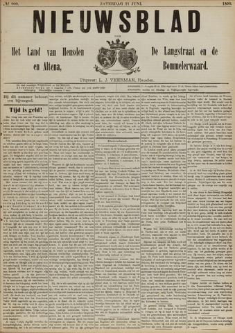 Nieuwsblad het land van Heusden en Altena de Langstraat en de Bommelerwaard 1890-06-21