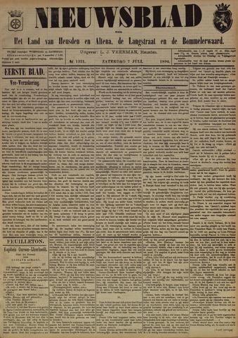Nieuwsblad het land van Heusden en Altena de Langstraat en de Bommelerwaard 1894-07-07