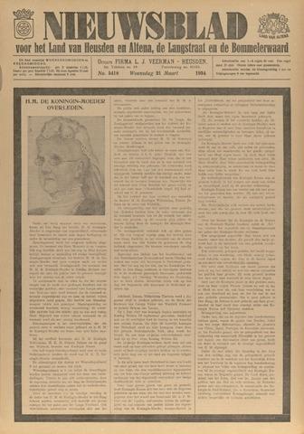Nieuwsblad het land van Heusden en Altena de Langstraat en de Bommelerwaard 1934-03-21