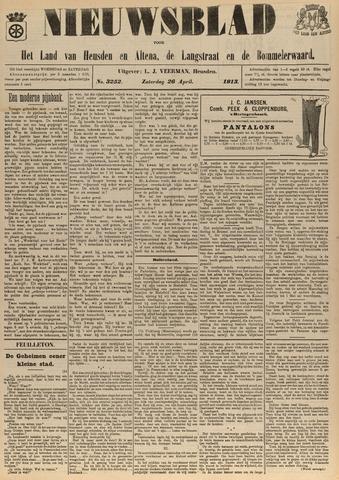 Nieuwsblad het land van Heusden en Altena de Langstraat en de Bommelerwaard 1913-04-26