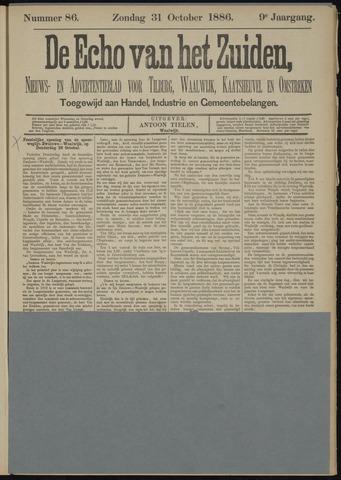 Echo van het Zuiden 1886-10-31