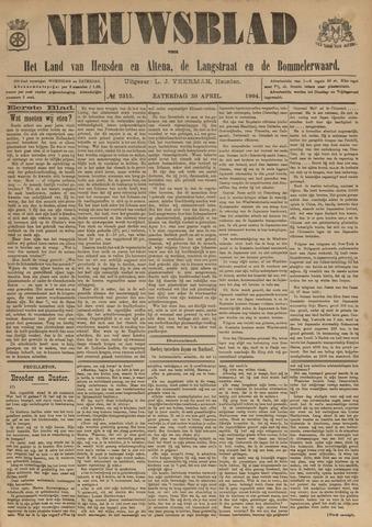 Nieuwsblad het land van Heusden en Altena de Langstraat en de Bommelerwaard 1904-04-30