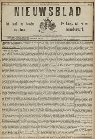 Nieuwsblad het land van Heusden en Altena de Langstraat en de Bommelerwaard 1890-12-03