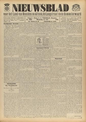 Nieuwsblad het land van Heusden en Altena de Langstraat en de Bommelerwaard 1928-07-11