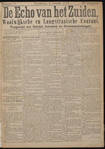 Echo van het Zuiden 1906-01-04