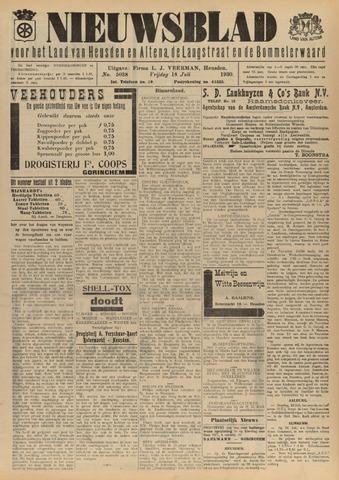 Nieuwsblad het land van Heusden en Altena de Langstraat en de Bommelerwaard 1930-07-18
