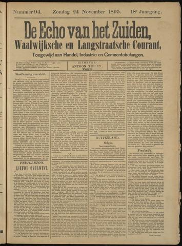 Echo van het Zuiden 1895-11-24