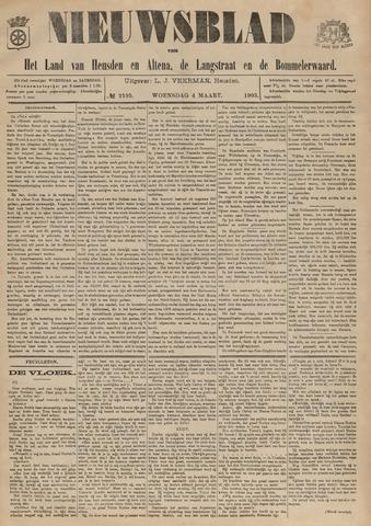 Nieuwsblad het land van Heusden en Altena de Langstraat en de Bommelerwaard 1903-03-04