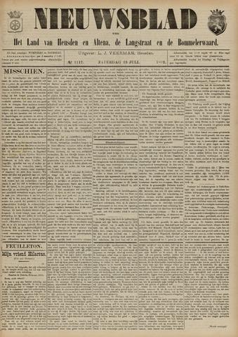 Nieuwsblad het land van Heusden en Altena de Langstraat en de Bommelerwaard 1892-07-23