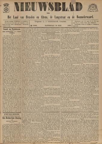 Nieuwsblad het land van Heusden en Altena de Langstraat en de Bommelerwaard 1901-05-18