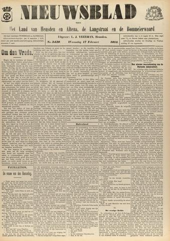 Nieuwsblad het land van Heusden en Altena de Langstraat en de Bommelerwaard 1915-02-17