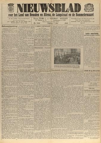 Nieuwsblad het land van Heusden en Altena de Langstraat en de Bommelerwaard 1943-05-07