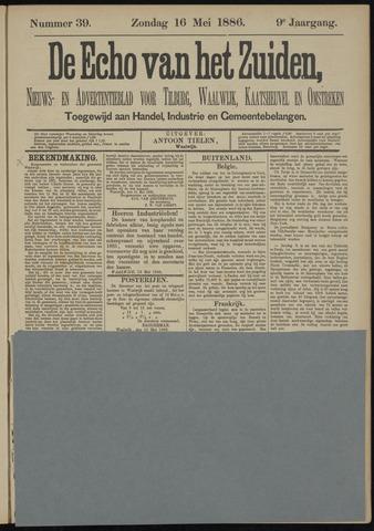 Echo van het Zuiden 1886-05-16