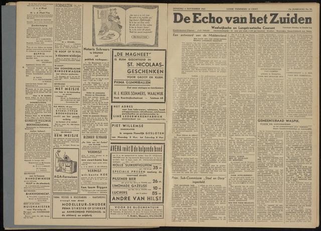 Echo van het Zuiden 1947-11-04