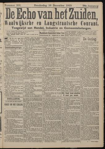 Echo van het Zuiden 1915-12-16