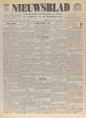 Nieuwsblad het land van Heusden en Altena de Langstraat en de Bommelerwaard 1949-03-17