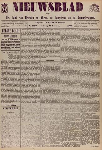 Nieuwsblad het land van Heusden en Altena de Langstraat en de Bommelerwaard 1909-12-11