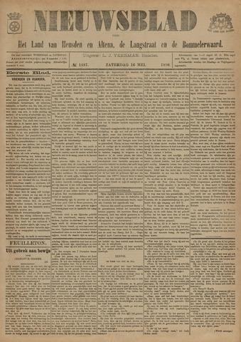 Nieuwsblad het land van Heusden en Altena de Langstraat en de Bommelerwaard 1896-05-16