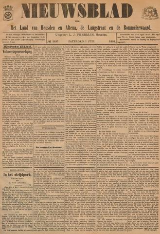 Nieuwsblad het land van Heusden en Altena de Langstraat en de Bommelerwaard 1905-07-01