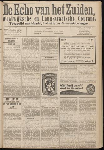 Echo van het Zuiden 1934-10-13