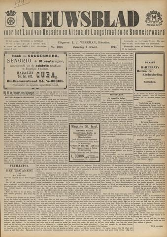 Nieuwsblad het land van Heusden en Altena de Langstraat en de Bommelerwaard 1921-03-05