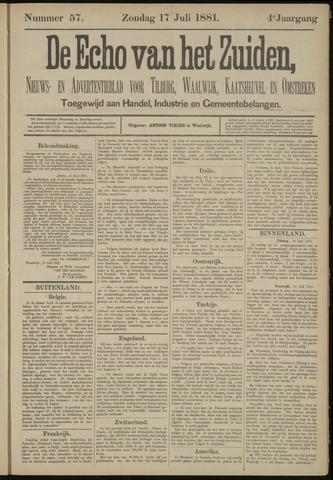 Echo van het Zuiden 1881-07-17