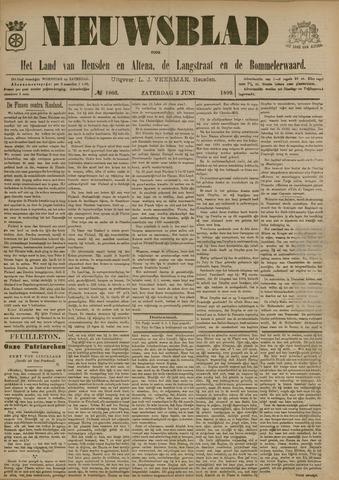 Nieuwsblad het land van Heusden en Altena de Langstraat en de Bommelerwaard 1899-06-03