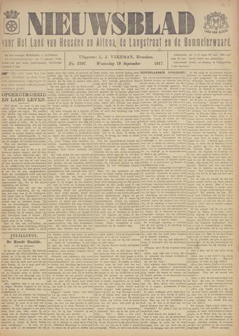 Nieuwsblad het land van Heusden en Altena de Langstraat en de Bommelerwaard 1917-09-19