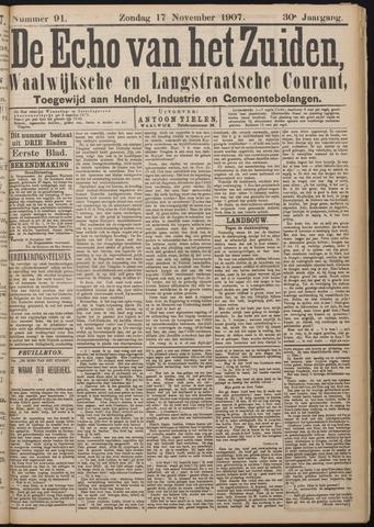 Echo van het Zuiden 1907-11-17