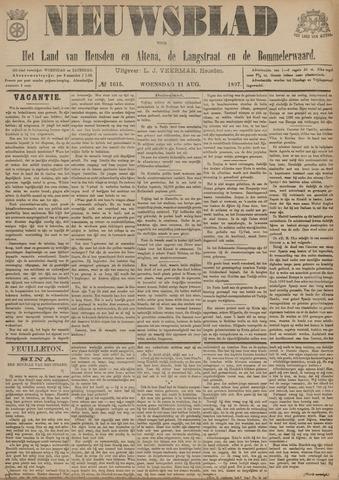 Nieuwsblad het land van Heusden en Altena de Langstraat en de Bommelerwaard 1897-08-11