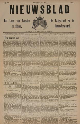 Nieuwsblad het land van Heusden en Altena de Langstraat en de Bommelerwaard 1888-07-04