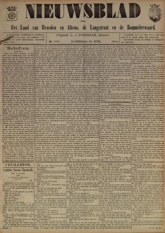 Nieuwsblad het land van Heusden en Altena de Langstraat en de Bommelerwaard 1894-06-23