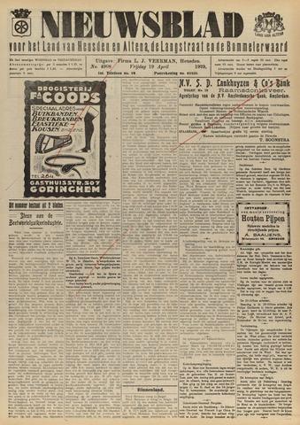 Nieuwsblad het land van Heusden en Altena de Langstraat en de Bommelerwaard 1929-04-19