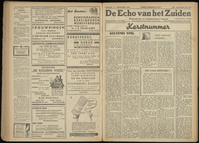 Echo van het Zuiden 1946-12-24