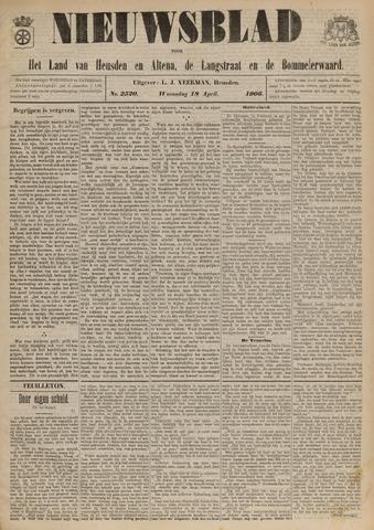 Nieuwsblad het land van Heusden en Altena de Langstraat en de Bommelerwaard 1906-04-18
