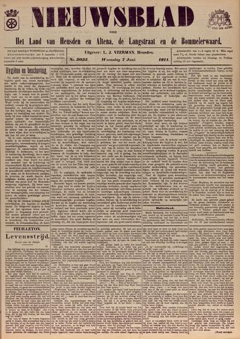 Nieuwsblad het land van Heusden en Altena de Langstraat en de Bommelerwaard 1911-06-07