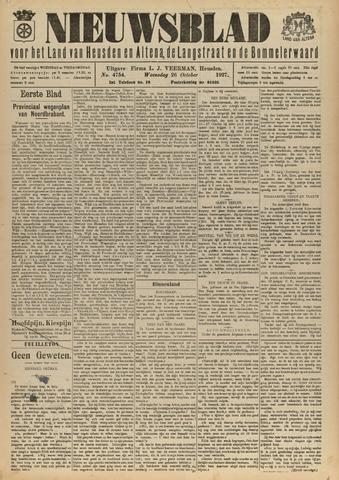 Nieuwsblad het land van Heusden en Altena de Langstraat en de Bommelerwaard 1927-10-26