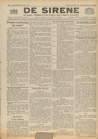 De Sirene 1945-08-13