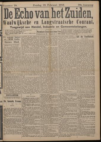 Echo van het Zuiden 1915-02-28