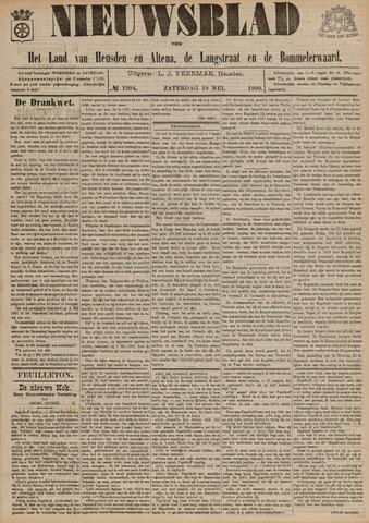 Nieuwsblad het land van Heusden en Altena de Langstraat en de Bommelerwaard 1900-05-19