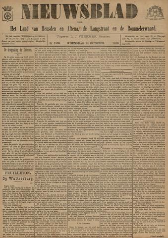 Nieuwsblad het land van Heusden en Altena de Langstraat en de Bommelerwaard 1896-10-14