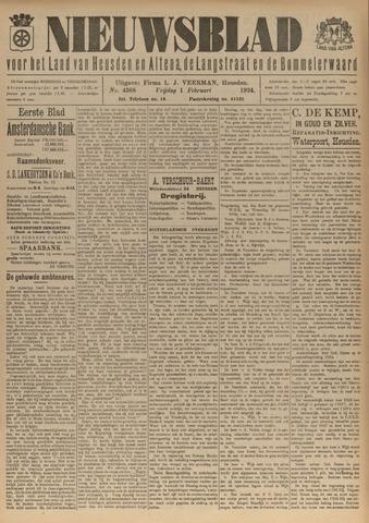 Nieuwsblad het land van Heusden en Altena de Langstraat en de Bommelerwaard 1924-02-01