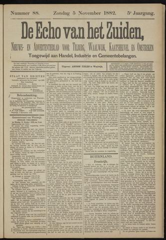 Echo van het Zuiden 1882-11-05