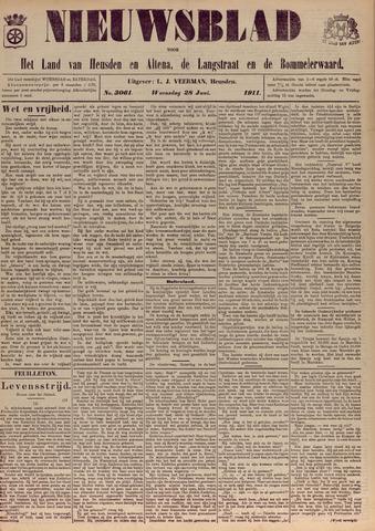 Nieuwsblad het land van Heusden en Altena de Langstraat en de Bommelerwaard 1911-06-28