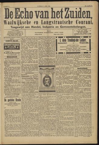Echo van het Zuiden 1923-04-14
