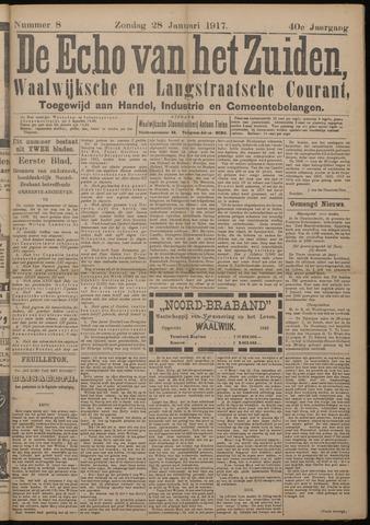 Echo van het Zuiden 1917-01-28